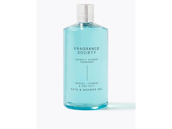 Fragrance Society Neroli, Jasmine & Sea Salt Shower Gel