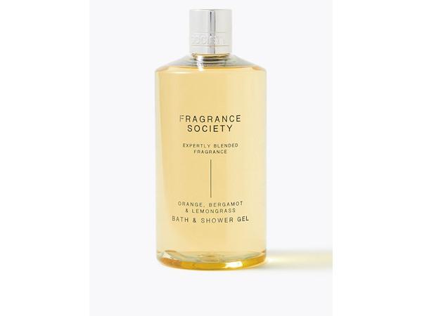 Fragrance Society Orange, Bergamot & Lemongrass Shower Gel