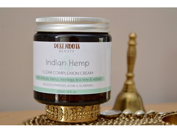 Desi Roots Beauty Indian Hemp - Clear Complexion Cream
