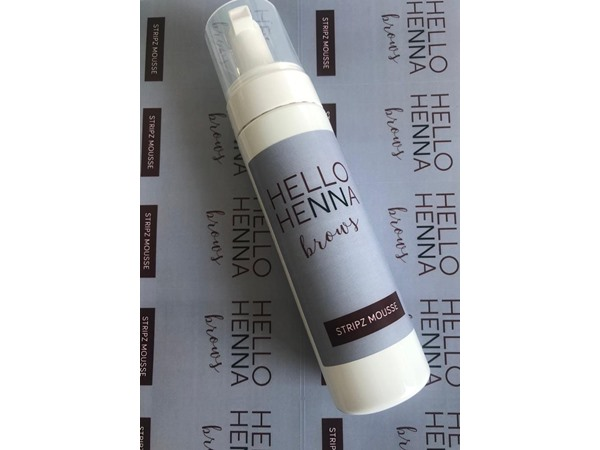 Hello Henna Brows Stripz Mousse for Brows