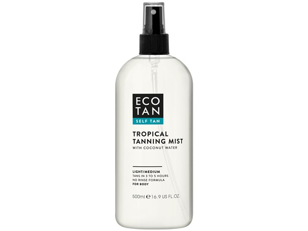 Eco Tan Tropical Tanning Mist With Coconut Water