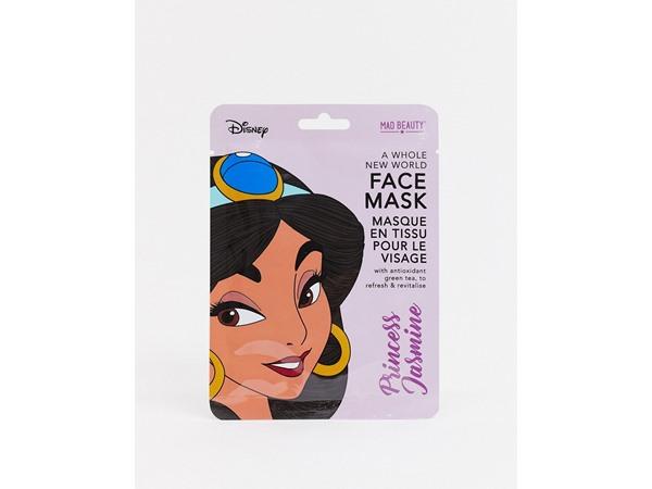M.A.D Beauty Disney Jasmine Refreshing Green Tea Sheet Face Mask-No Colour