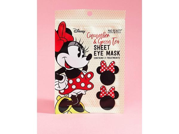 Disney Minnie Mouse Eye Mask - Cucumber And Green Tea-Multi
