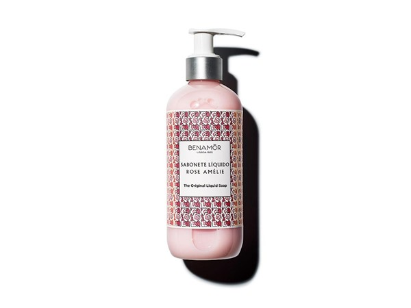 Benamor Rose Amélie The Original Liquid Soap