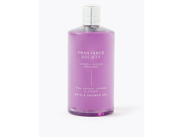 Fragrance Society Pink Pepper, Orange & Ginger Shower Gel