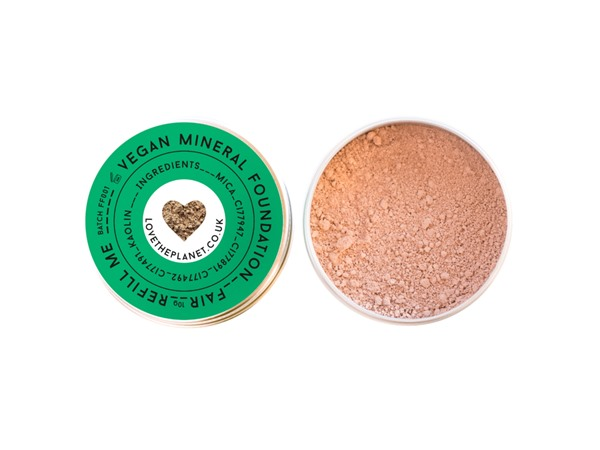 Love The Planet Vegan Mineral Foundation