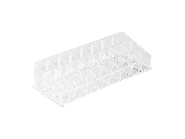 Small Clear Cosmetic Organiser