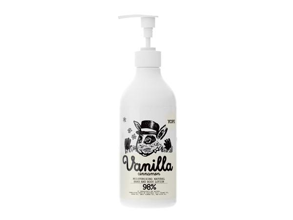 Yope Natural Body Lotion Vanilla & Cinnamon