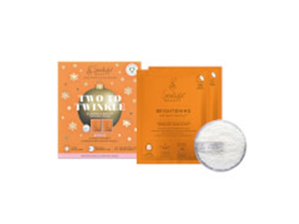 Seoulista Beauty Two To Twinkle Cleanse And Brighten Christmas Pack (Worth £21.00)