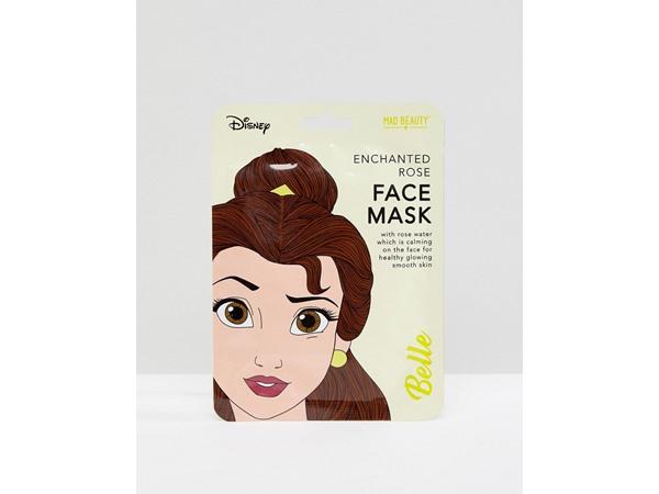 M.A.D Beauty Disney Belle Calming Rose Sheet Face Mask-No Colour