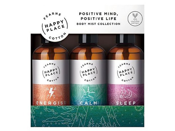 Fearne Happy Place Positive Mind, Positive Life - Body Mist Collection