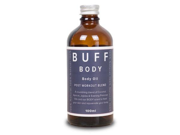 Buff Natural Body Care Buff Body Postworkout Blend Body And Bathe Oil