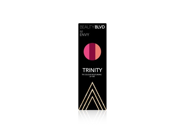 BEAUTY BLVD Trinity Tri Colour Lip Balm