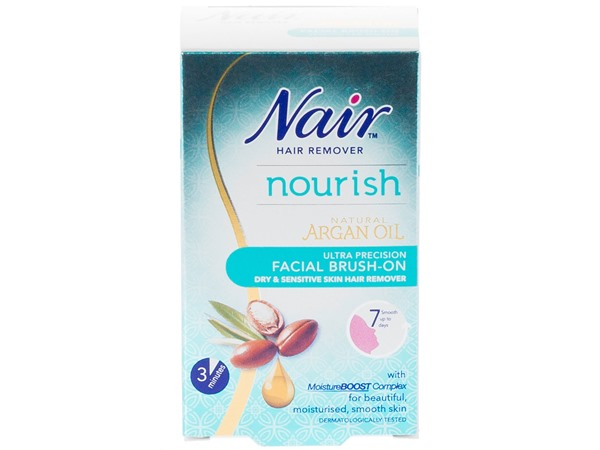 Nair Sensitive Facial Brush On