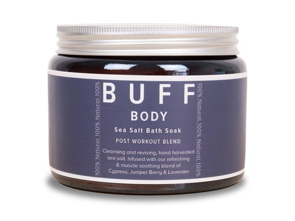 Buff Natural Body Care Buff Body Sea Salt Bath Soak