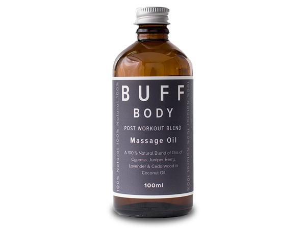 Buff Natural Body Care Buff Body Soothing And Rejuvinating Massage Oil