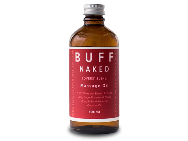 Buff Natural Body Care Buff Naked Lovers' Blend Connect And Cherish Massage Oil