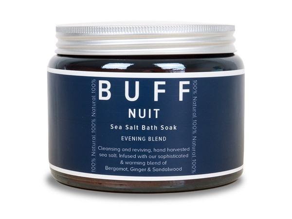 Buff Natural Body Care Buff Nuit Sea Salt Bath Soak