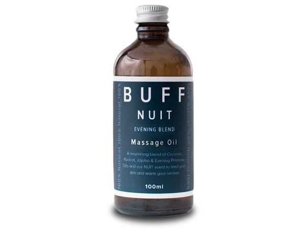 Buff Natural Body Care Buff Nuit Warming And Relaxing Massage Oil