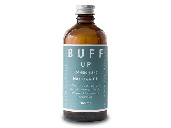 Buff Natural Body Care Buff Up Energising And Uplifting Massage Oil
