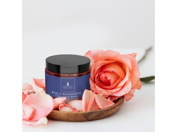 Zelenci Rose and Frankincense Facial Cleansing Balm