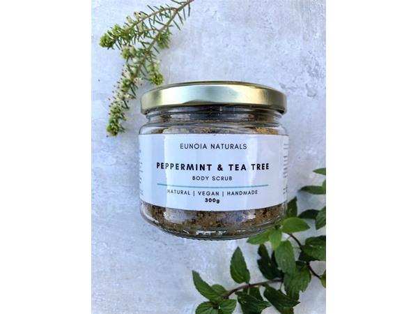 Eunoia Naturals Peppermint & Tea Tree Body Scrub