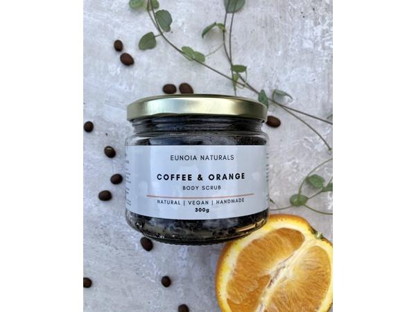 Eunoia Naturals Coffee & Orange Body Scrub