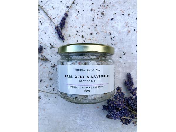 Eunoia Naturals Earl Grey & Lavender Body Scrub