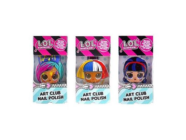 LOL Surprise Surprise Art Club Secret Surprise Nails