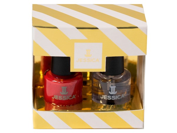 Jessica Royal Red Mini Holiday Duo 2 X 7.