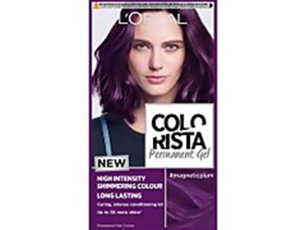 Paris Colorista Magnetic Long-Lasting Permanent Hair Dye Gel - Magnetic Plum