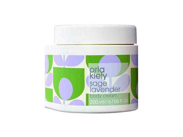 Orla Kiely Sage Lavender Body Cream