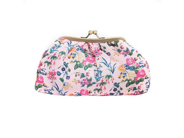 Cosmetic Clutch Bag Satin