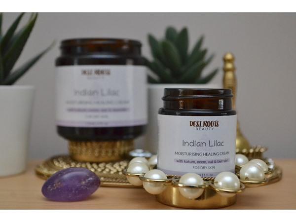 Desi Roots Beauty Indian Lilac - Moisturising Healing Cream