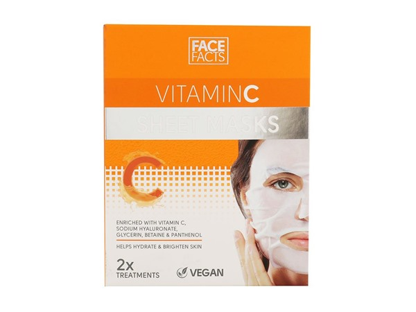 Face Facts Vitamin C Sheet Masks