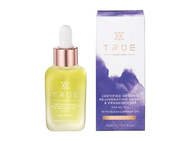 True Skincare Certified Organic Rejuvenating Cacay & Frankincense Facial Oil
