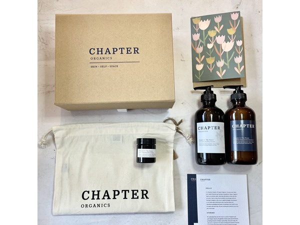 Chapter Organics Mothers Day Hand And Body Cleanser + Moisturiser