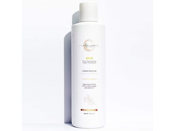 Ella Mae Cosmetics 100% Natural Frizz Control Argan Oil Shampoo