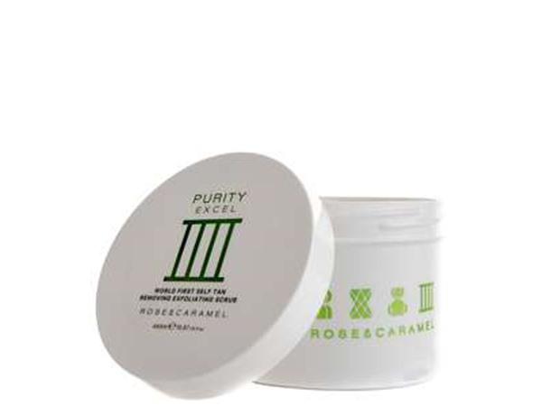 Rose & Caramel Tan Purity Excel 3 Minute Tan Remover Exfoliating Scrub