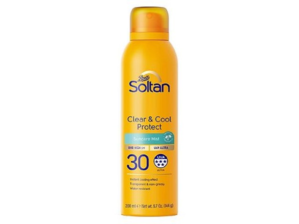 Boots Soltan Soltan Clear & Cool Protect Suncare Mist Spf30