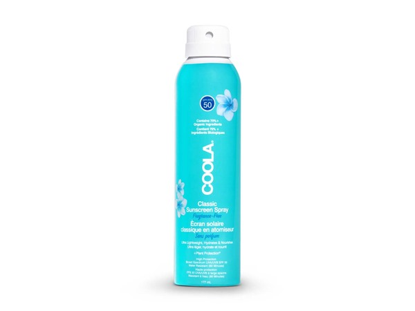 Coola Classic Spf50 Body Spray Unscented