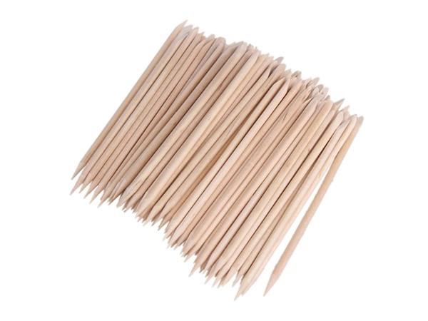 100 Manicure Wooden Sticks