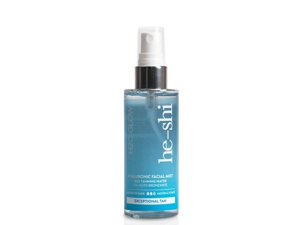 He-Shi H2O Glow Hyaluronic Tan Facial Mist