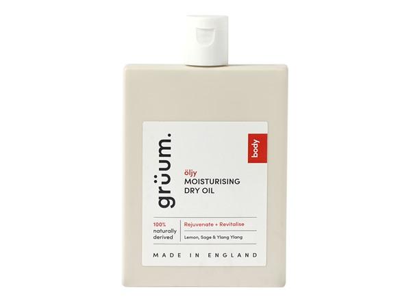 grüum Öljy Moisturising Dry Oil Lemon; Sage & Ylang Ylang