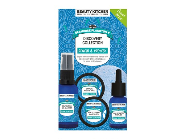 Beauty Kitchen Seahorse Plankton+ Discovery Collection Kit