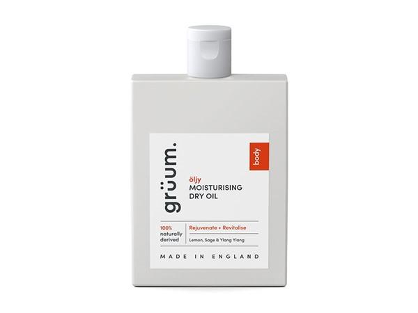 grüum Oljy Moisturising Dry Oil - Rejuvenate & Revitalise