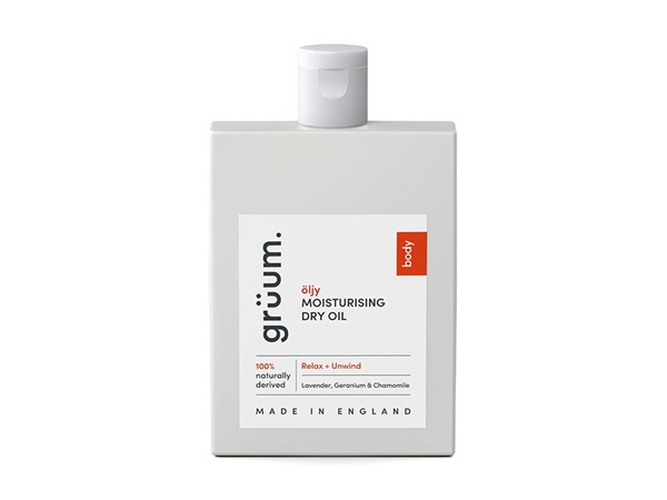 grüum Oljy Moisturising Dry Oil - Relax & Unwind