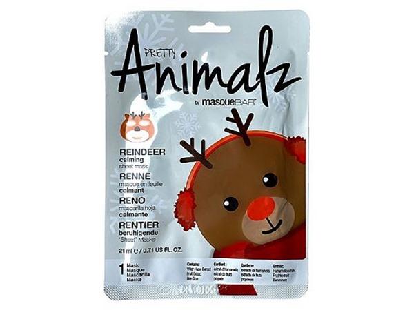 MasqueBAR Pretty Animalz By  Reindeer Sheet Mask