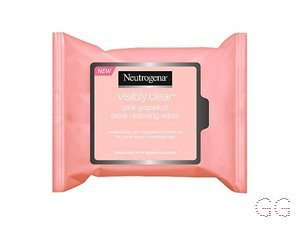 Visibly Clear Pink Grapefruit Facial Cleansing Wipes