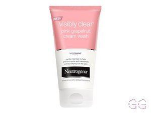 Visibly Clear Pink Grapefruit Cream Wash